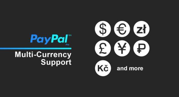 Intégration multi-devises Paypal Pro, logique conditionnelle et réglementation de la conformité