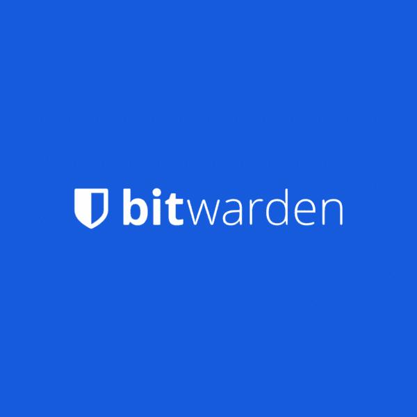 bitwardenロゴ