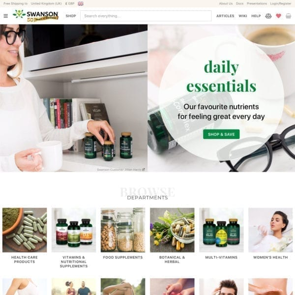 Full-Service International Ecommerce Website OLD